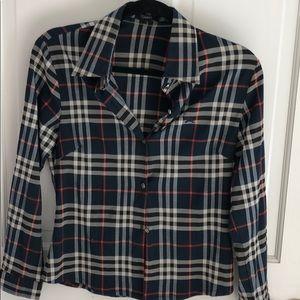 BURBERRY Plaid Shirt!